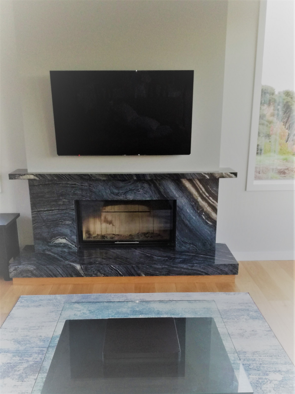 Fire surround and hearth denise heald