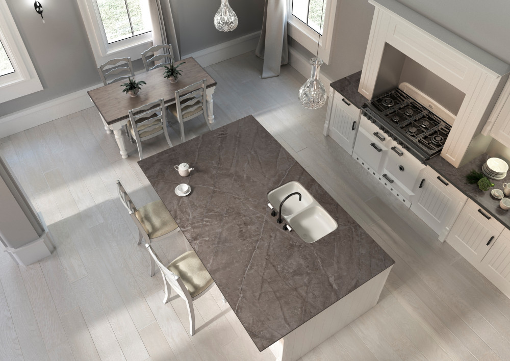 Dekton Kitchen HD Kira 3 top elevation