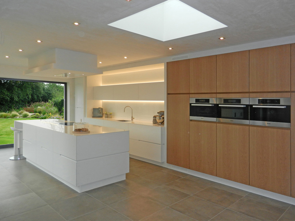 Pure White Diamondstone Kitchen