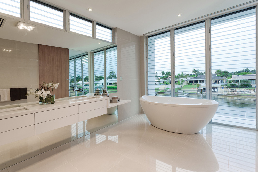 Pure White Diamondstone Bathroom resized