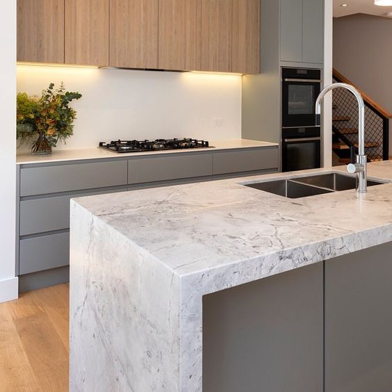 Superwhite Dolomite Kitchen